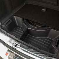 Car Organizer For Q5 Audi ABS Trunk Storage Box Stowing Tidying Automobiles Accessories Car Styling