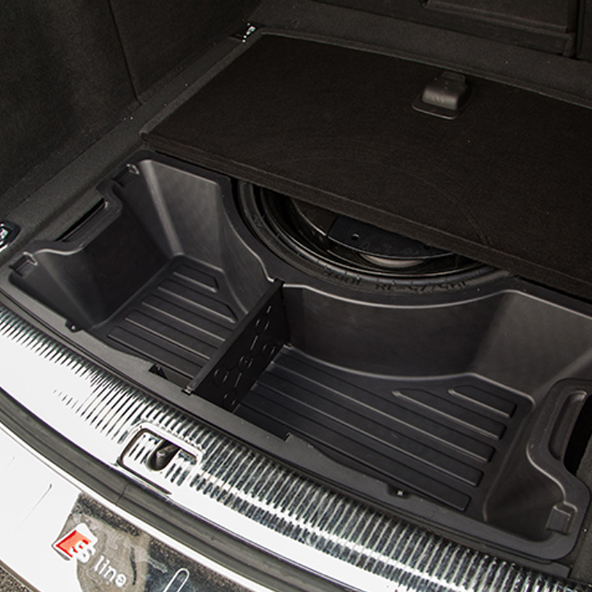 Car Trunk Storage >> Car organizer for Audi Q5 2009 2016 ABS Trunk Storage Box ...