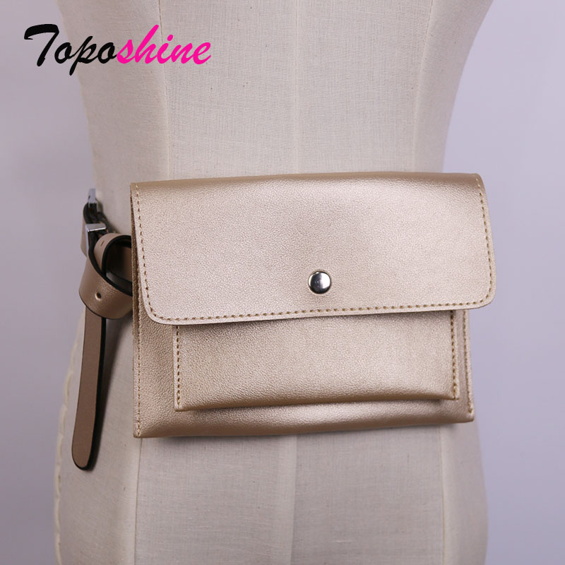 Retro Fashion Large-Capacity Waist Bag Summer New Street Trend Envelopes Bag Casual Personality Messenger Mobile Bag with Belt
