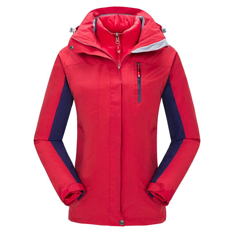 New Arrive Winter Windstopper Waterproof Jaqueta Feminina 3in1 Ski Hiking Outdoor Jacket Women Camping Duck Down Lining Coat new mens 3in1 outdoor fleece lining hooded waterproof winter jacket men windbreaker coat ski hiking camping jaqueta masculina