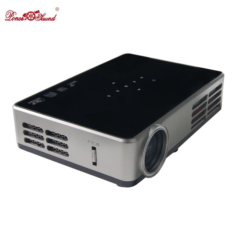 Poner Saund Full Hd New Mini Projector Proyector Led Lcd: Poner Saund Mini Projector Full HD Android Smart Video LCD