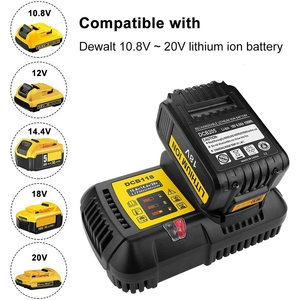 Image 5 - Dcb118 Dcb112 Replacement Battery Charger 4.5A Lithium Ion Fast Charger For Dewalt Dcb205 Dcb206 Dcb203Bt Dcb204Bt Dcb127 Dcb1