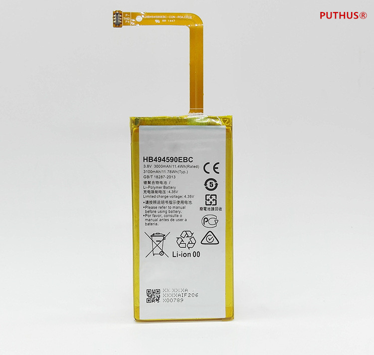 For Hua Wei Replacement Phone Battery Hb494590ebc For Huawei Honor 7 Glory Plk-tl01h Ath-al00 Plk-al10 3000mah Fine Craftsmanship Mobile Phone Batteries