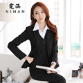 Women's autumn and winter wear suit Slim OL suit vest female dress