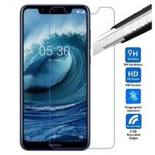9 H Premium de Vidro Temperado Para Nokia 2.5D X5 5.86 polegada 0.26mm Protetor de Tela película protetora Para Nokia 5.1 além de Vidro Temperado