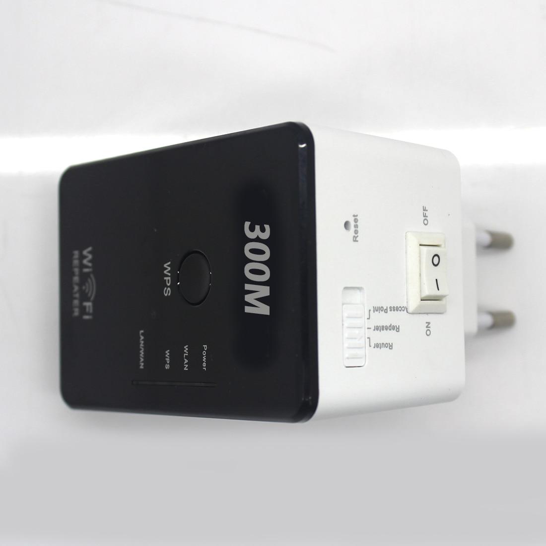 NOYOKERE New High Quality 802.11N Wifi Repeater Wireless-N AP Range Extender 300Mbps Booster Signal Amplifier wlan EU