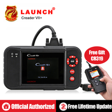 Launch X431 Creader VII+ VII plus Auto Code Reader OBD2 Scanner Launch  CRP123 OBDII Diagnostic Tool Car Automotive Scan Tool top quality launch creader 5001 car diagnostic tool free update obdii auto diagnosis creader cr5001 odb obd 2 automotive scanner