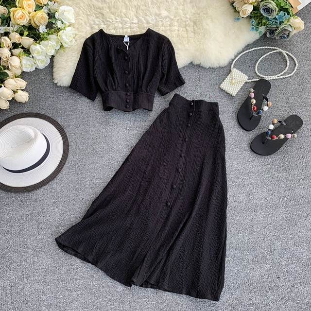 2019 Two piece set Summer Outfits  3