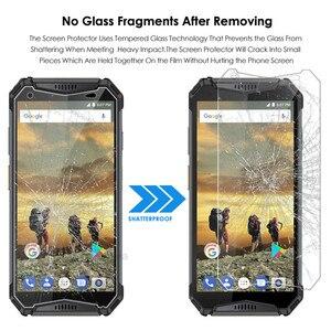Image 4 - 10Pcs טלפון מסך מגן עבור Ulefone שריון 2 3 3T מזג זכוכית 9H סרט מגן דק במיוחד עבור Ulefone שריון 2 3 פרימיום