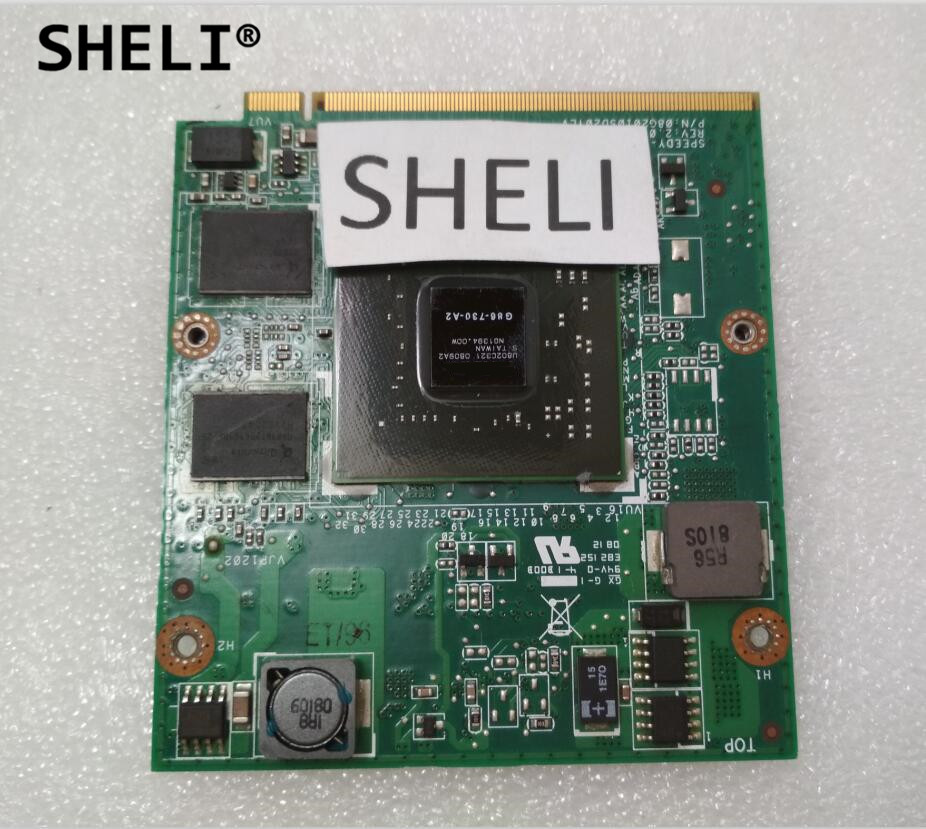 SHELI 8400M G86-730-A2 NB8M-GS REV 2.0 VGA Video Graphics Card for Y510 Y510A Y530 F51 F51A V550SHELI 8400M G86-730-A2 NB8M-GS REV 2.0 VGA Video Graphics Card for Y510 Y510A Y530 F51 F51A V550