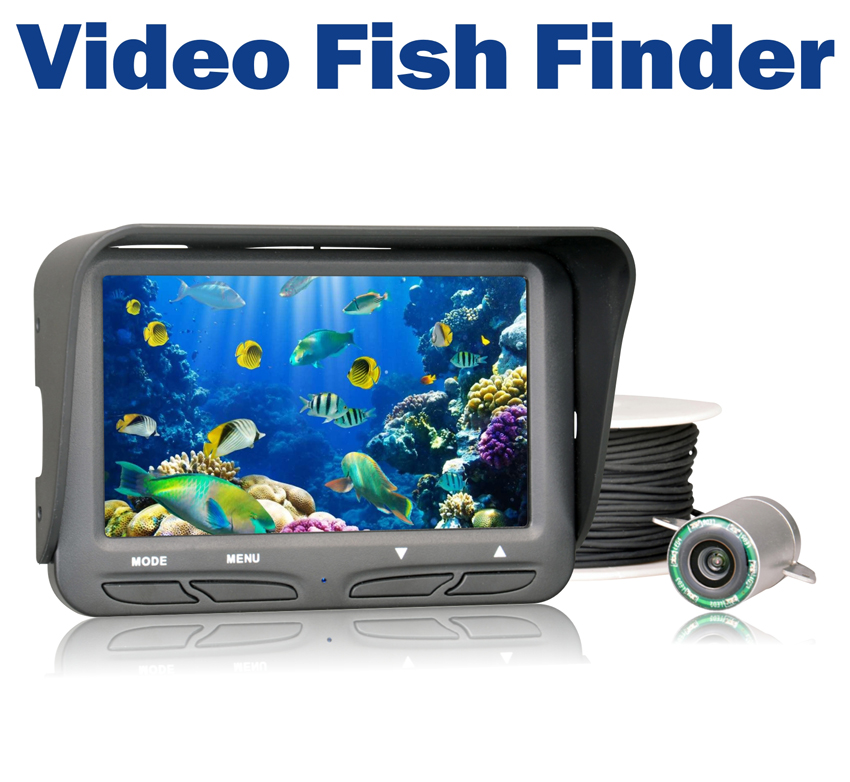 720P Underwater Ice Fishing Camera 4.3 inch LCD Monitor 6 LED Night Vision Video Camera 30m Cable Visual Fish Finder 7hb dvr 30m fish finder video underwater fishing camera 4 3 monitor night vision 30m