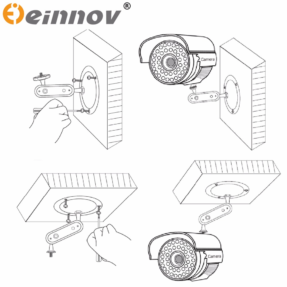 aliexpress com buy einnov cctv security onvif hd wifi cloud ip aliexpress com buy einnov cctv security onvif hd wifi cloud ip camera wireless p2p plug play ir cut nightvision waterproof outdoor indoor from reliable