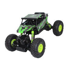 RC Toy Car 18428-B Electric Drive Climbing 4WD 1/18 2.4G Monster Truck RC Vehicles toys xmas gifts for child