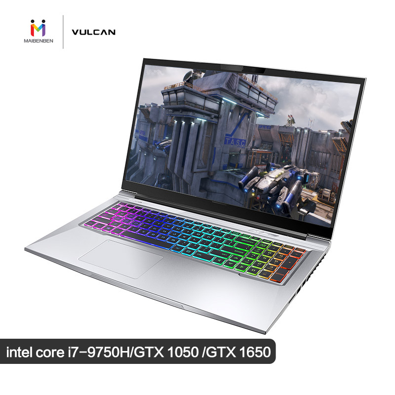MaiBenBen X9Plus Intel I7-9750H+GTX1650 4G Graphics Card/32G RAM/512G+1TB/DOS/17.3
