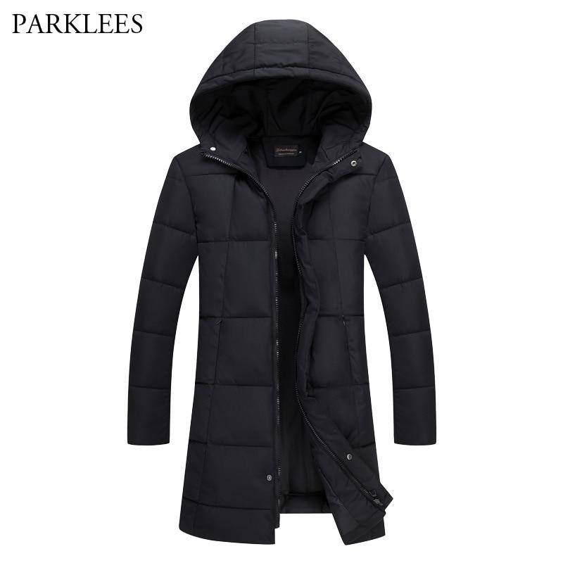 Winter Jacket men Casual Wadded Jacket Men's Brand Jackets And Coats Thicken   Parka   Men Jaqueta Masculina Inverno Black XXXL