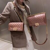YIQIN BERYL Luxury Brand Gradient Color Jelly Bag Plaid Matt Gold Bag Chain Shoulder Messenger Lady Clutch Purse Beach Handbag