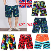 New fashion Men board short Summer Casual Shorts Baggy stripes quick dry Beach short(China)