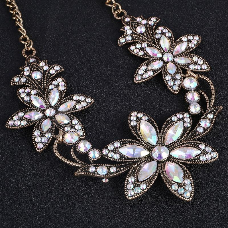 19 Fashion Designer Chain Choker Statement Necklace Women Necklace Bib Necklaces & Pendants Gold Silver Chain Vintage Jewelry 25