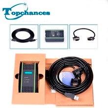 Высокое качество ПЛК кабель для Siemens S7 200/300/400 6ES7 972-0CB20-0XA0 USB-MPI+ PC USB-PPI