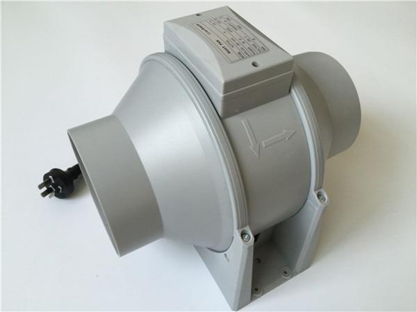 """"""" вытяжной вентилятор Высокая эффективность Смешанный Поток вентиляционная система вытяжной воздух для парника встроенный канальный вентилятор(диаметр 150 мм"""