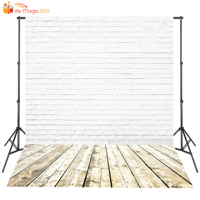 Bricks Floor Baby Shower Backdrop Background Fond Studio Photo Vinyle