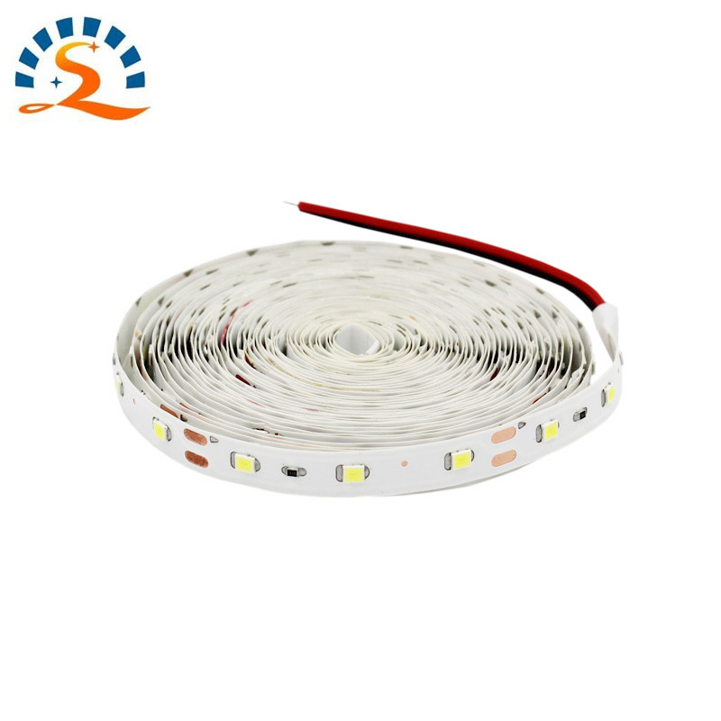 1m 2m 3m 5m LED Strip Lights RGB Warm White Blue Red Green Flexible light strip 2835 Not waterproof  Beautiful decorative lamps waterproof decorative el cold light flexible cable w drive jade green 3m 2 x aa