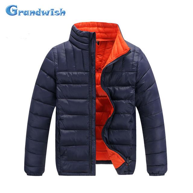 Grandwish niños invierno ropa de algodón para niños solid abrigos de down jacket para niños niños gruesa chaqueta prendas de vestir exteriores ocasional 6 t-14 t, SC555