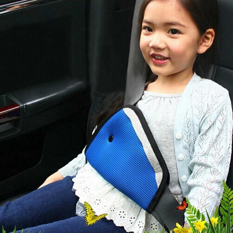 2018 ใหม่สามเหลี่ยมรถเด็กความปลอดภัยเข็มขัดปรับอุปกรณ์เด็กความปลอดภัยโกนหนวดเด็กปรับที่นั่งเข็มขัด