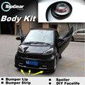 Бампер Губы Для Mercedes Benz Smart Forfour Родстер Fortow/Top Gear Магазин Спойлер Для Тюнинга Автомобилей/TOPGEAR Боди-Кит газа