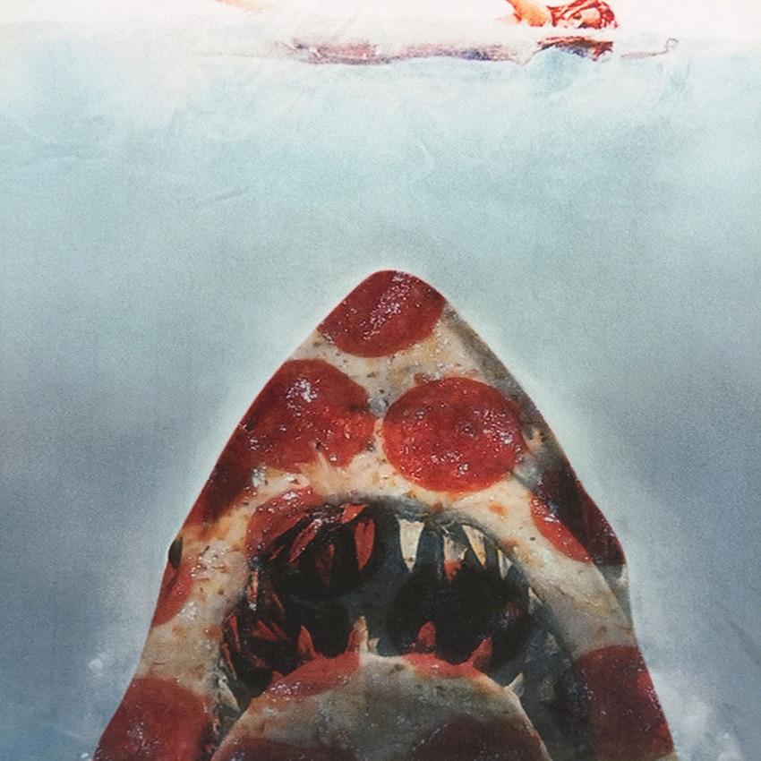 Mr.1991 αστεία Pizza Shark 3D τυπωμένο t-shirt - Παιδικά ενδύματα - Φωτογραφία 4