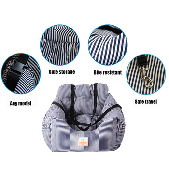 Pet Dog Carrier Sofa Seat Pad Safe Carry Cat Outdoors Traveling Puppy Dog Car Seat Waterproof Dog SUV Seat Pet Products 3 Colors 4
