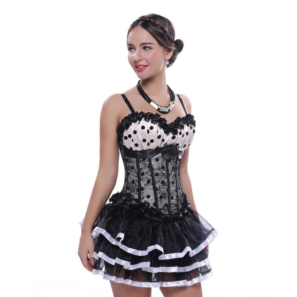 Sexy Satin Karneval Korsett Hot Palast Lila Tänzerin Kleid Wäsche Showgirl Top Tutu Rock Taille Bustier Plus Größe S-6xl Home