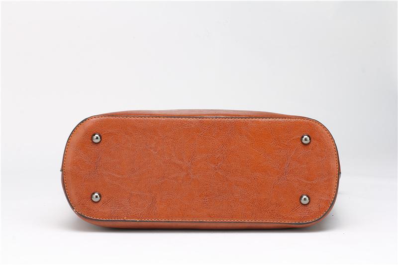 DIDA BEAR Brand Women Leather Handbags Lady Large Tote Bag Female Pu Shoulder Bags Bolsas Femininas Sac A Main Brown Black Red 12