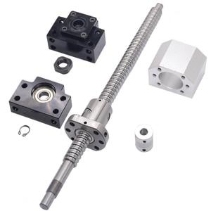 Image 4 - SFU1605 ชุด: SFU1605 รีดสกรูบอล C7 ด้วยปลายกลึง + 1605 nut + อ่อนนุช + BK/BF12 end สนับสนุน + coupler RM1605
