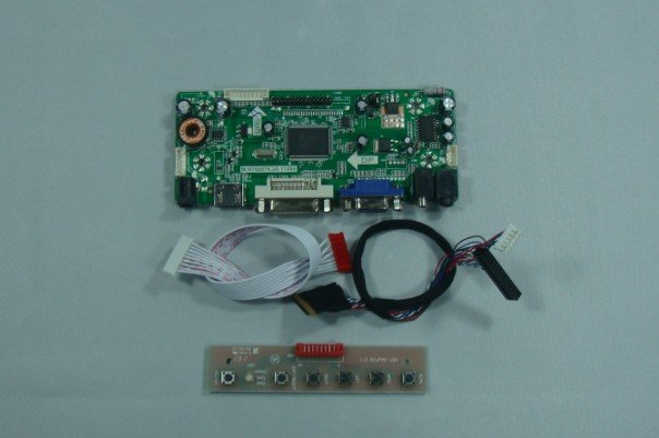 HDMI+VGA+Audio LCD controller board for 15.6inch B156XW02 1366*768 (without LCD)