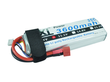 XXL RC Lipo Battery 3600mAh 11.1V 3S 35C-70C For T-REX 550E M3D-500 Helicopter Monster Truck Car Airplane