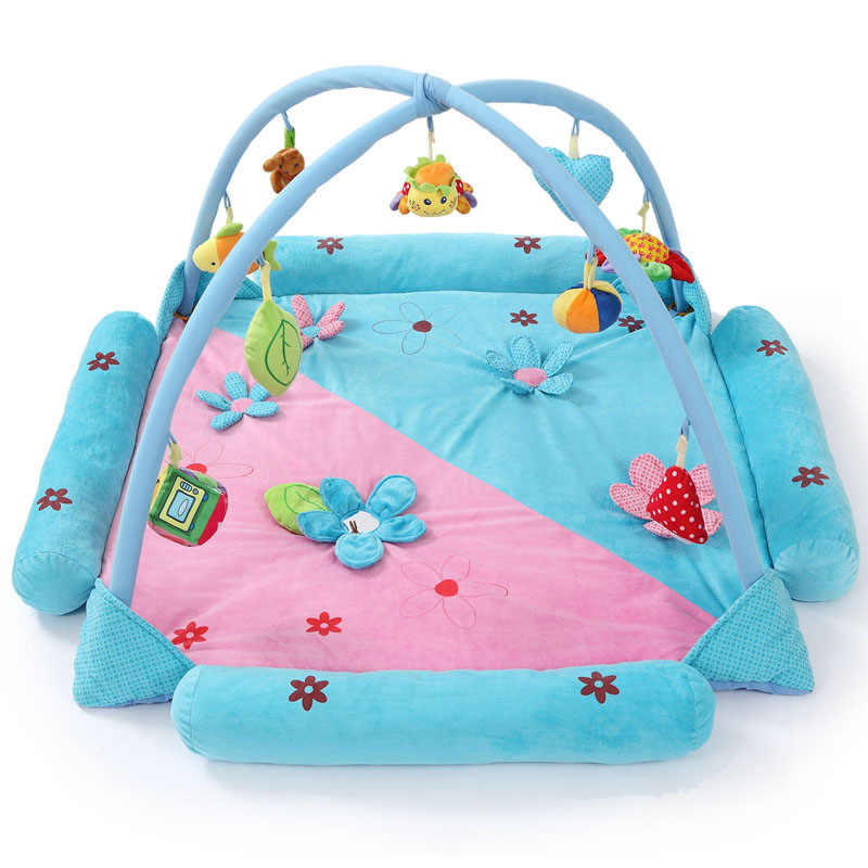Soft Baby Play Mat Baby Music Playmat Educational Toys Kids Carpet Children Playmat Newborn Gym Mat With Frame JH-778514A