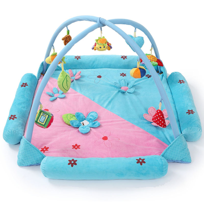 Soft Baby-Play-Mat Baby Music Playmat Educational Toys Kids Carpet Children Play Mat Newborn Gym Mat With Frame JH-778514A