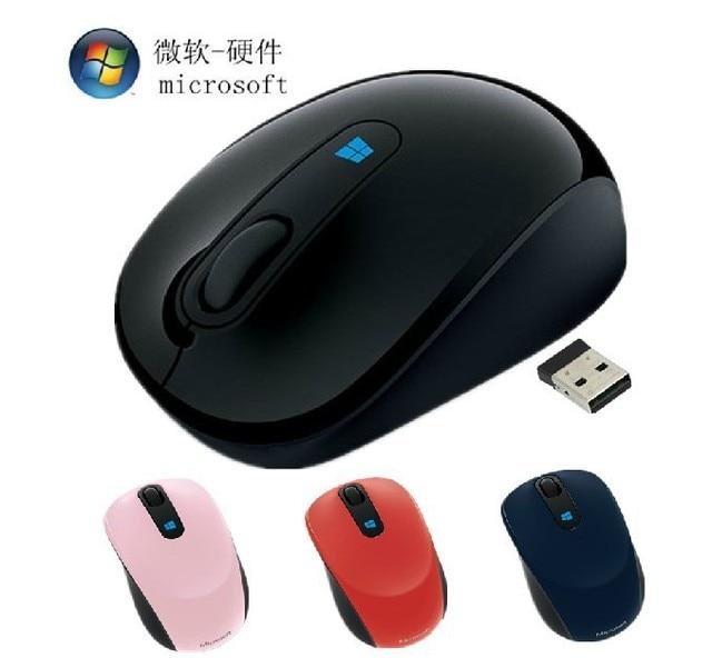 fcc04335cc7 Microsoft Sculpt Mobile Wireless Mouse Gamer 2.4GHz Computer Mouse  Microsoft Sculpt Ergonomic Mouse