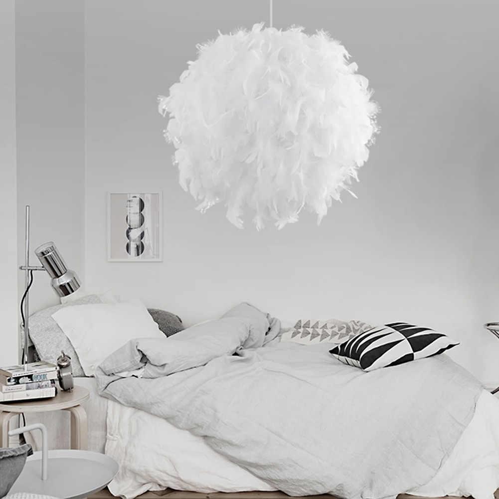 Coquimbo подвесной светильник с перьями романтическая лампа Dreamlike перо подвесной светильник для спальни гостиная; зал подвесной светильник E26/E27 Max 60W
