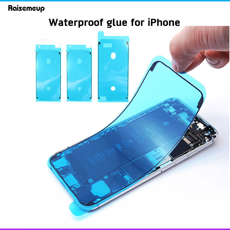 Waterproof Seal Adhesive Sticker for iPhone 6S 7 8 Plus X XS MAX XR LCD Waterproof Frame Bezel Seal Tape Adhesive Glue Screen(China)