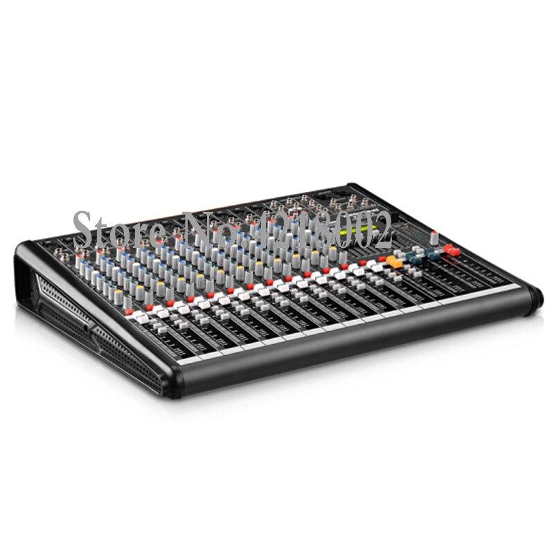 ZuverläSsig Efx8 Professionelle Bühne Wirkung Leistung Mischer 8 Kanal Mixer Console Unterhaltungselektronik