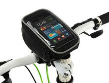 4.8INCH  NEW Cycling Bicycle bike Handlebar Black Bag for Touch Screen Cell Phone for Iphone 6 Iphone 7 HTC/GPS 4.8″
