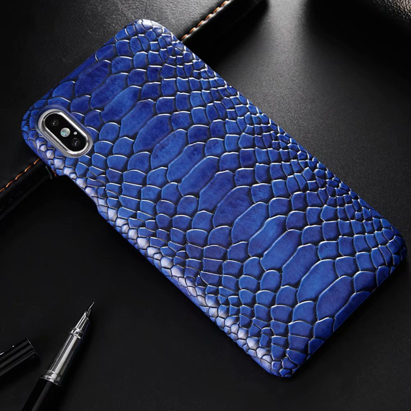 snake pu leather case (1)