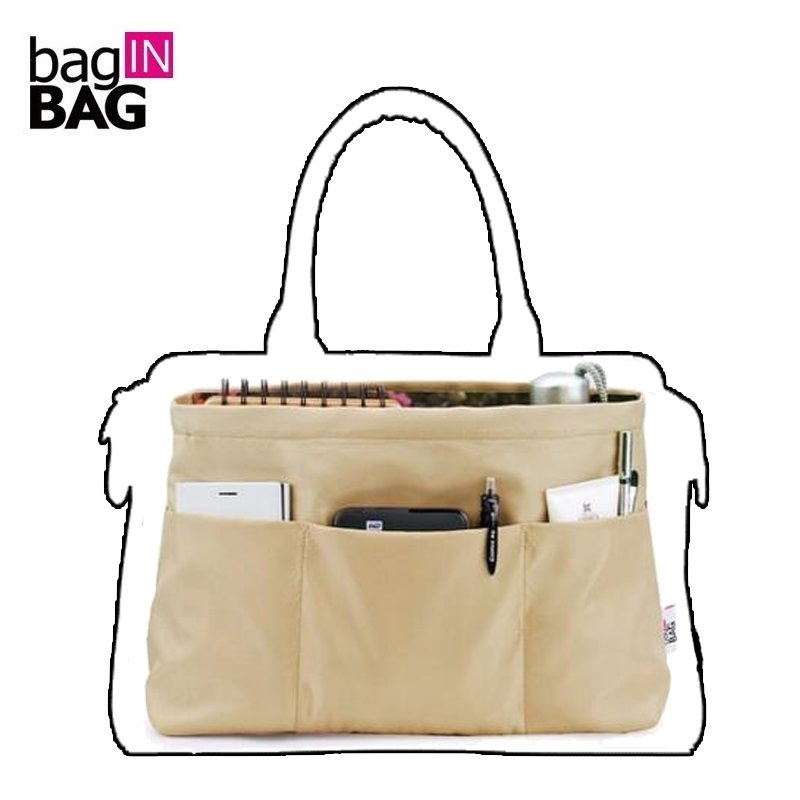 Purse Organizer Insert Bag in Bag Organizer For Brand Trapezoidal Bags (Small Top Big Bottom); Tas Organizer Organizador Bolsa