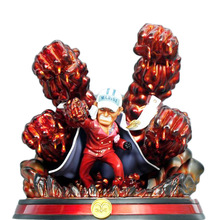 Anime One Piece BBT Sakazuki Akainu Action Figures The Marshal Of Naval Headquarters Model Toys