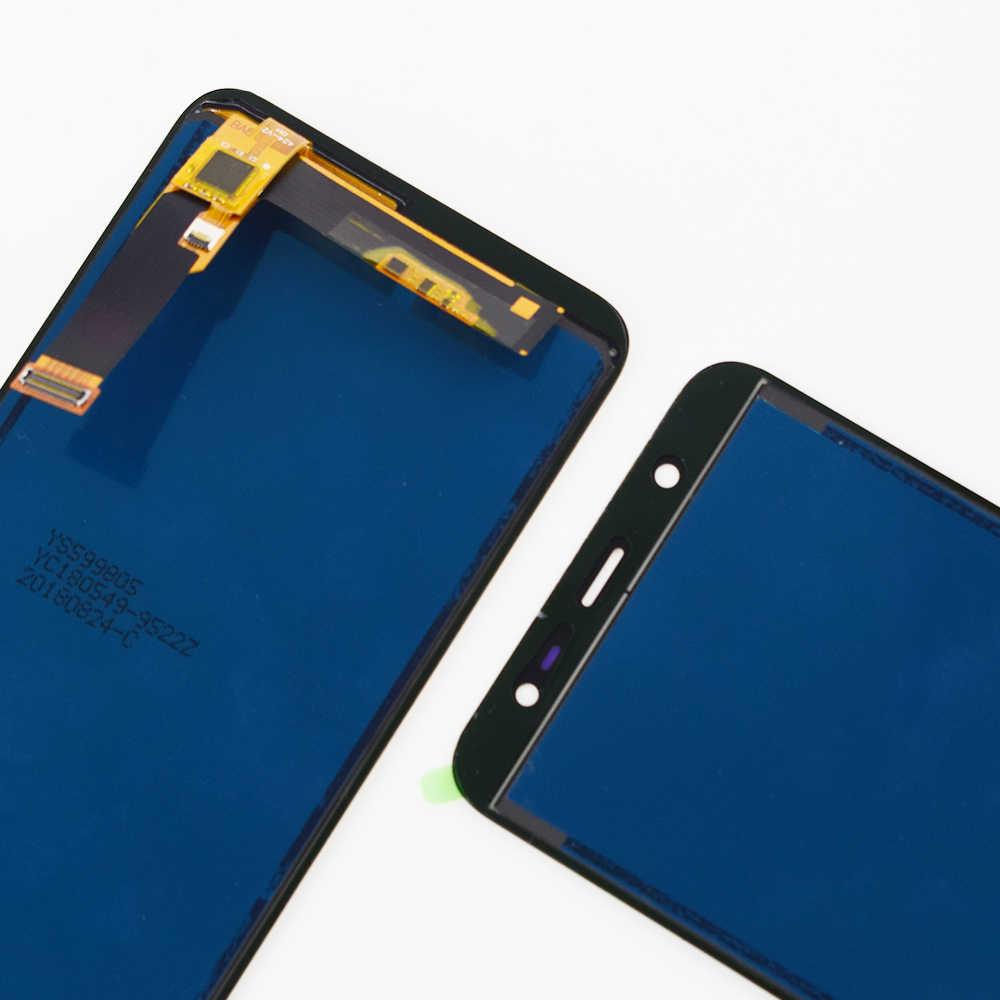 Ajustable para Samsung J800 LCD J800 pantalla táctil digitalizador Sensor montaje para Samsung Galaxy J8 2018 pantalla