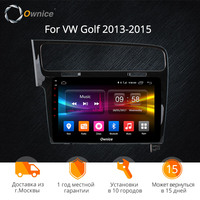 Ownice K1 K2 K3 8 core android 8.1 for VW Golf 7 2015 2016 Golf R 2015 2016 Golf GTE 2015 Car radio DVD Player 2G RAM 32G 10.1