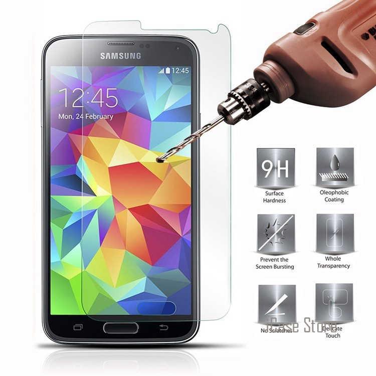 واقي للشاشة من الزجاج المقسى لهواتف سامسونج جالاكسي جراند برايم G531H/DS جراند نيو I9060 G361 J2 J5 برايم طبقة رقيقة واقية