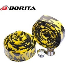 New Arrival Cycling Handle Belt Bike Bicycle Cork Handlebar Tape Wrap +2 Bar Plug Cycliing Lover Accessory Strap
